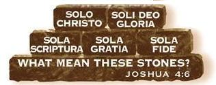 Five Stones -- Five Solas